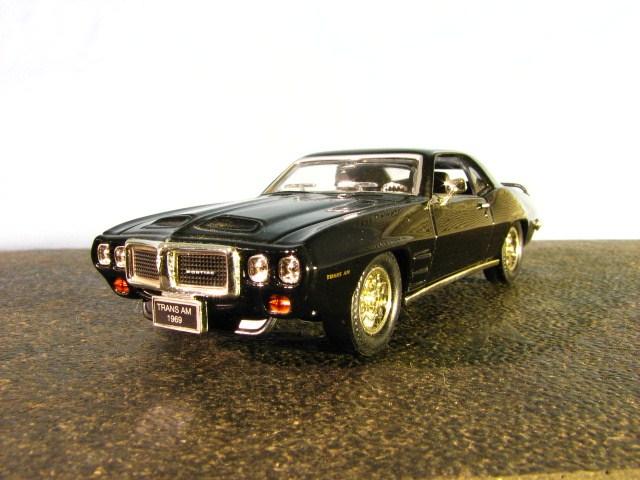 A 1/43 SCALE 1969 PONTIAC TRANS AM