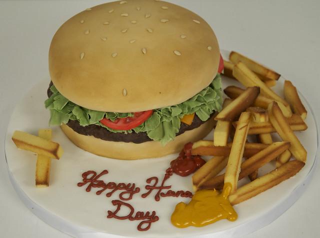 hamburger cake toronto