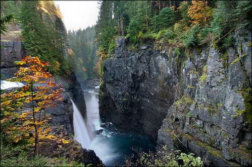 nature waterfall elkfalls platinumheartaward