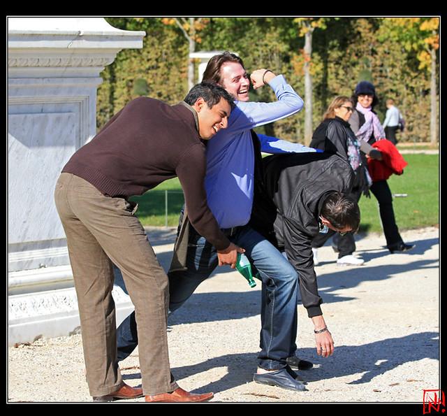 Et si on était des statues à Versailles...