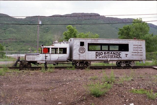 Galloping goose #7 Colorado railroad Museum