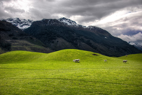 The Soft Hills on the way to Paradise, New Zealand | by hdrapprentice