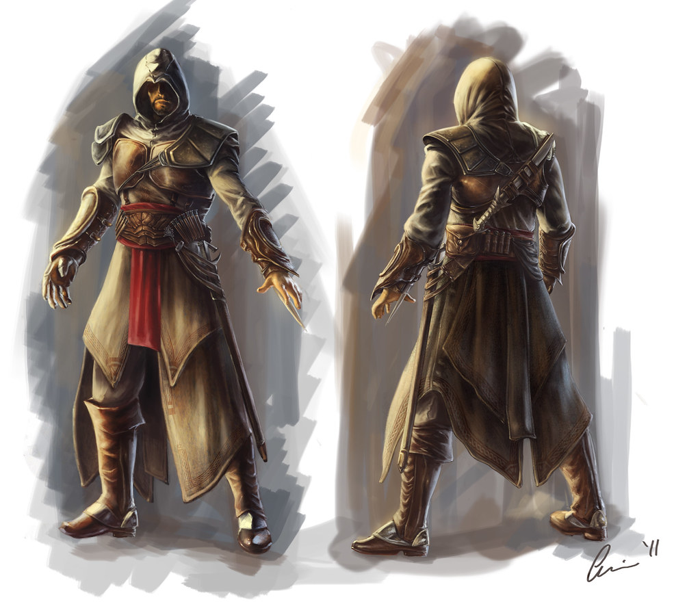Assassin S Creed Fan Film Concept Art By Eshwin Dhir Flickr