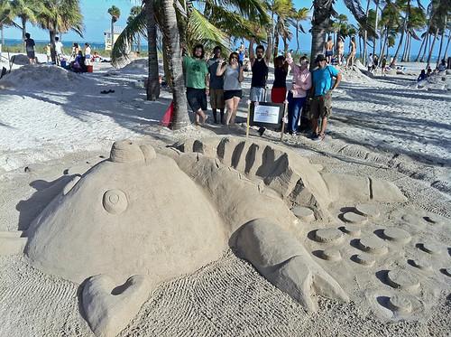 Ai Miami students in Sandblast Competition
