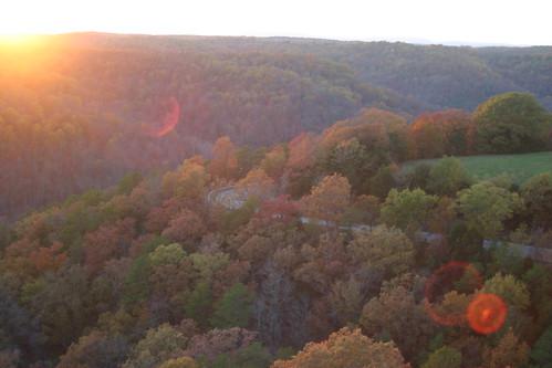 autumn sunset mountains fall roadtrip curve eureka bmt us62