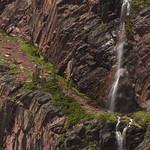 Waterfall at Otokomi Lake