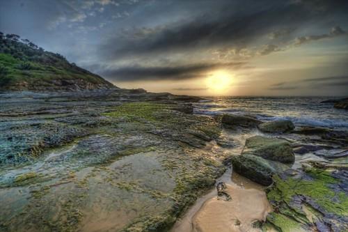 ocean seascape sunrise dawn sand rocks shoreline hdr hss spoonbay mygearandme mygearandmepremium mygearandmebronze mygearandmesilver mygearandmegold mygearandmeplatinum mygearandmediamond