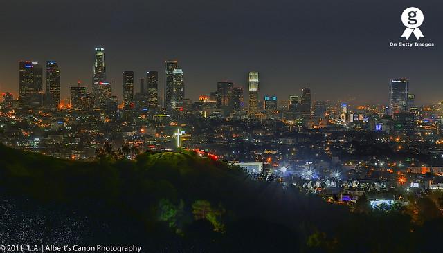 LA night after the rain! (#222 Explored 11.14.11)