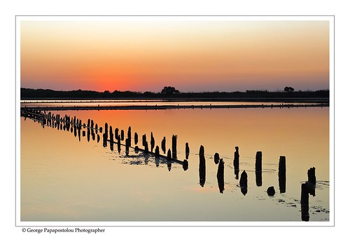 travel blue sunset sky lake nature colors landscape greece saltlake kosisland