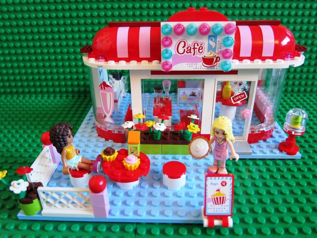 Lego Friends City Park Cafe 3061 1 Lego Friends City Park Flickr