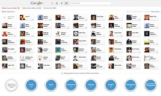 Adding People to Circles on Google+ | by Thomas Hawk