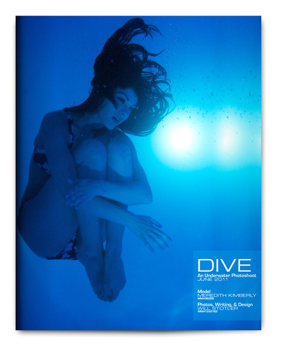 Design Project: Underwater Magazine Spread - Cover | by willstotler
