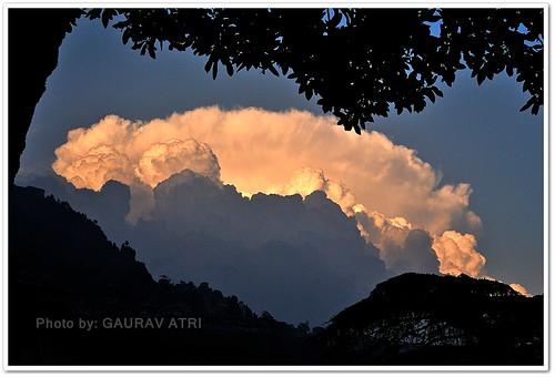 color nature clouds