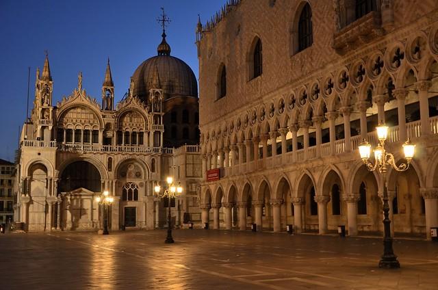 basilica di s. marco, palazzo ducale -s. marco, venezia