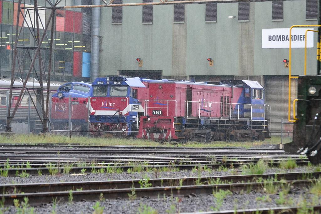 V/line engines by Jarle