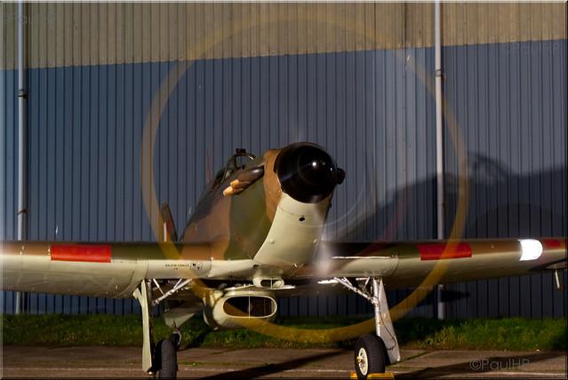 G-HURI Z5140 HA-C Hawker Hurricane