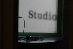Studio microphone, Theater De Regentes