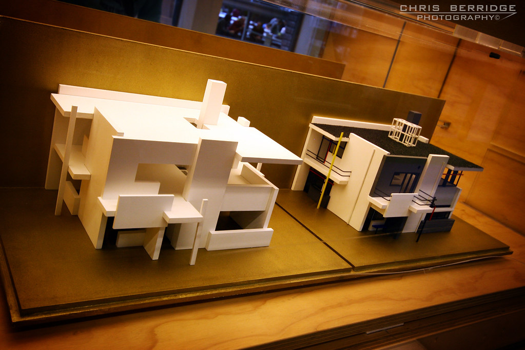 Rietveld Schroder house models Chris B70D Flickr
