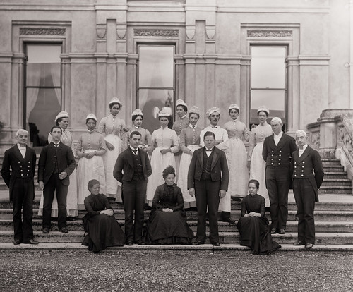 Curraghmore House meets Downton Abbey   by National Library of Ireland on The Commons