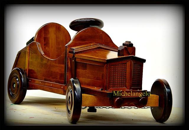 RETRO'  car  - Ciao Ciao Bambina-