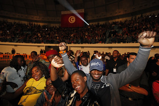 Concert: 'Africa Celebrates Democracy' Tunis, Tunisia, 11 November 2011