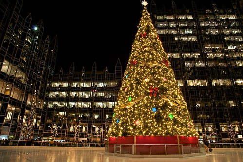 City of Pittsburgh's Holiday Tree, 51st Duquesne Light Light Up Night, Market Square | by jiuguangw
