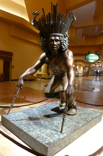 Sculpture in Casino Hotel