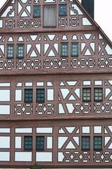 Bietigheim-Bissingen Germany Hornmoldhaus 'Lens Nikon 105mm f/2.8G IF-ED AF-S VR Micro Nikkor' Half-Timbered 'timber-framed building'