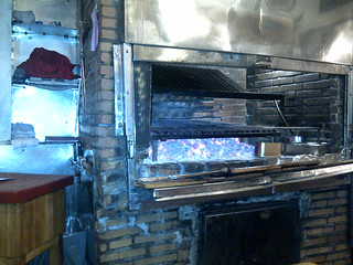 Restaurante Cuarto y Mitad - Madrid | Detalle de parrilla ...