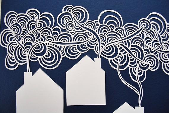 Papercut village
