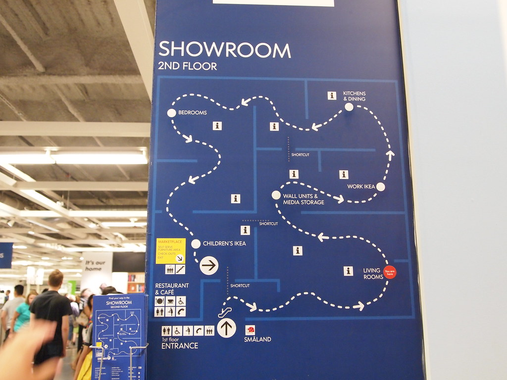 Ikea Map | It's definitely designed like a maze to trap you ... Ikea Map on los angeles location map, micro center map, bed bath and beyond map, jordan's map, stores pacific location on map, in n out map, mcdonald's map, eden project map, old navy map, anthropologie map, petsmart map, henry's map, white castle map, alshaya map, jack in the box map, world map, 7-eleven locations map, pier 1 map, pottery barn map, national grid map,