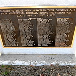 MIDDLEFIELD - VIETNAM WAR MEMORIAL - a