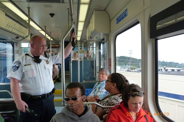 Sound Transit Fare Enforcement...
