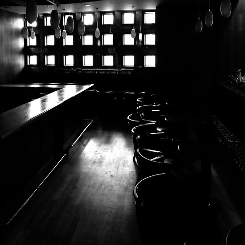 the light in the closed bar - explored