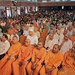 View of the vast crowd assembled for the Inter-faith Meet held at the Ramakrishna Mission, Delhi.