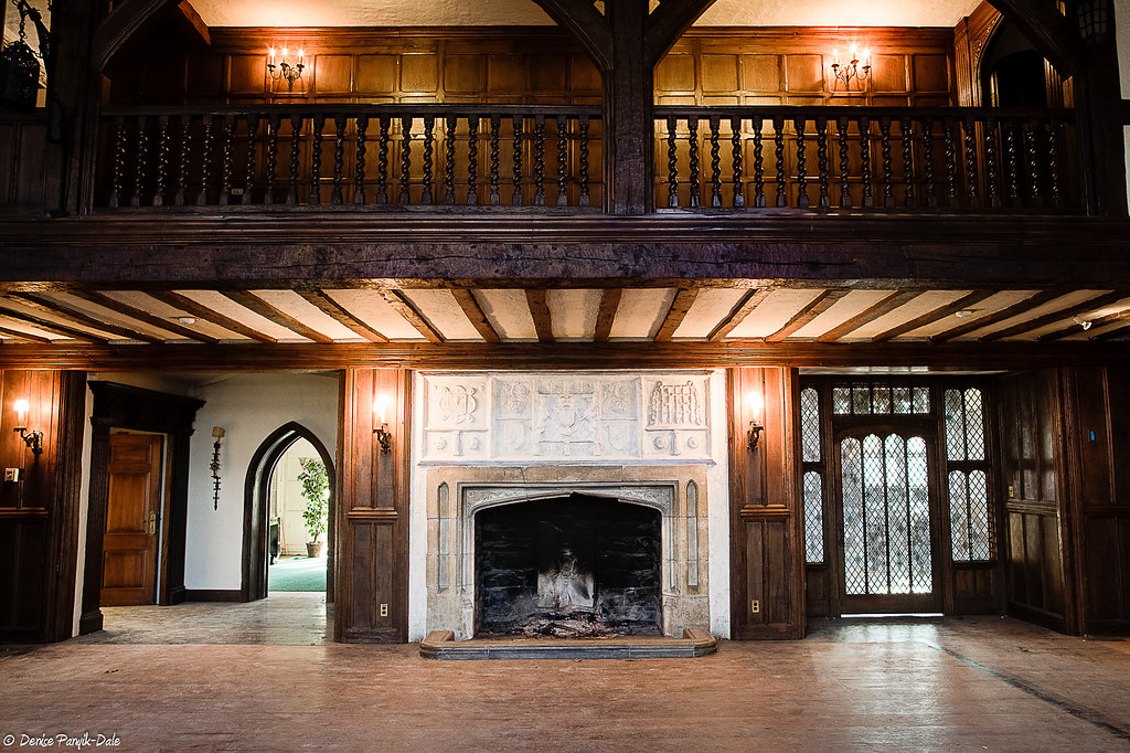 Mansion In May Great Hall Fireplace The Great Hall With