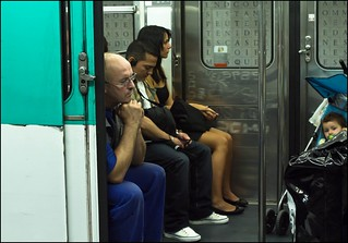 Subway people | by zilverbat.
