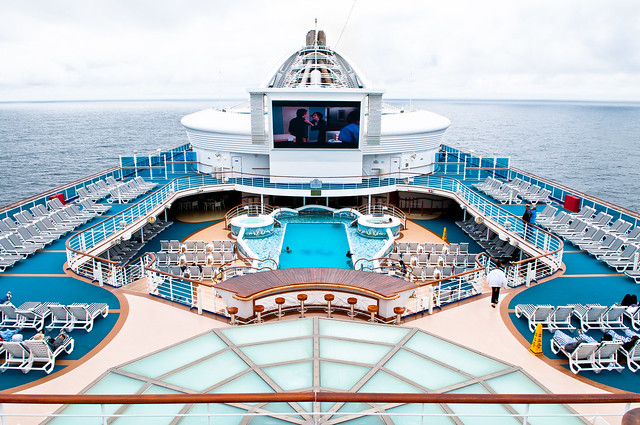 how to make a cruise ship route map