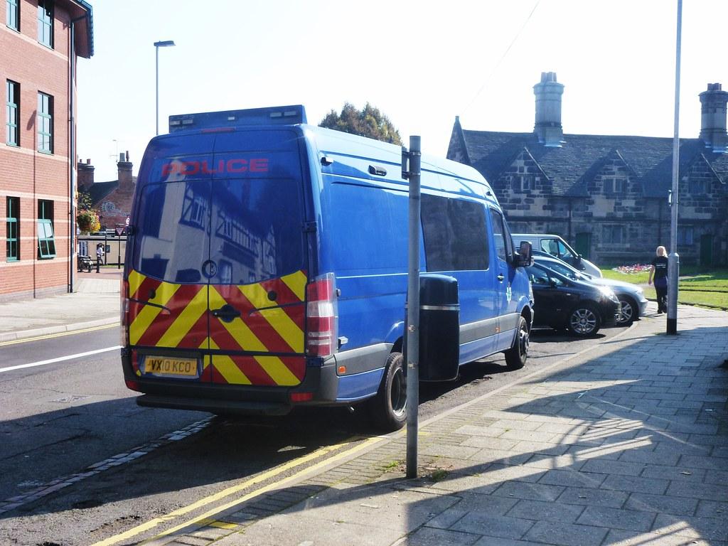 Mercedes Sprinter 516 CDI - Staffordshire Police - VX10KCO