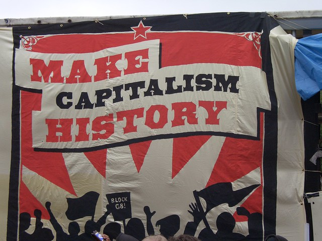 Make Capitalism History - Politics For A Real Change *