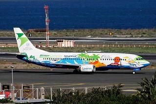 EC-INQ 1 Boeing 737-4Q8 Binter Canarias LPA 02FEB07