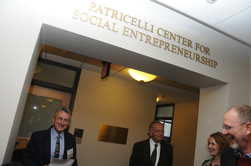 Patricelli Center Dedication