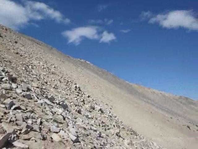 331 Kearsarge Pass Trail - panorama video from Kearsarge Pass