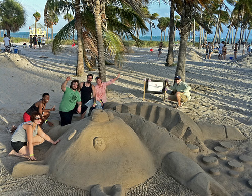Ai Miami students take 1st place in Sandblast Competition