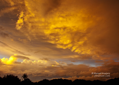 clouds sunrise colorful zeus guam dededo