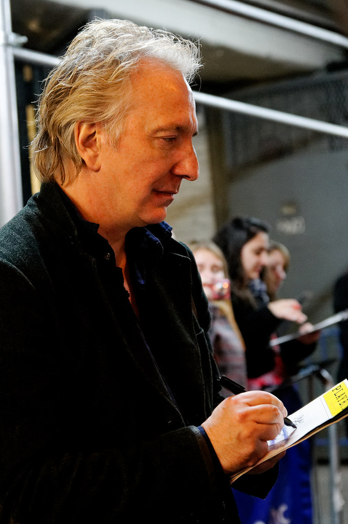 June 19, 2001 -- Alan Rickman. This is one of several