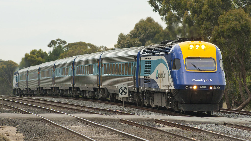 Melbourne bound XPT by michaelgreenhill