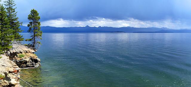 Yellowstone Lake Panorama
