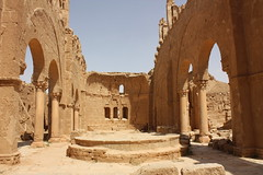 Resafa, church of St Sergius