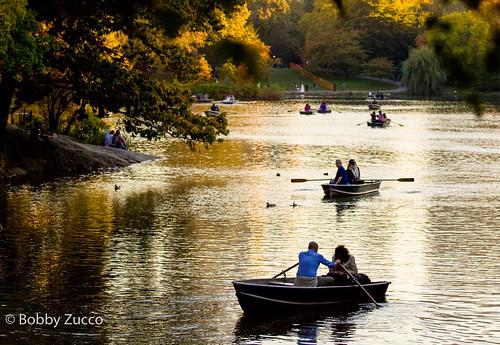 2009 centralpark nyc boats water sunset zucco bobby ny pedrozucco bobbyzucco geotagged
